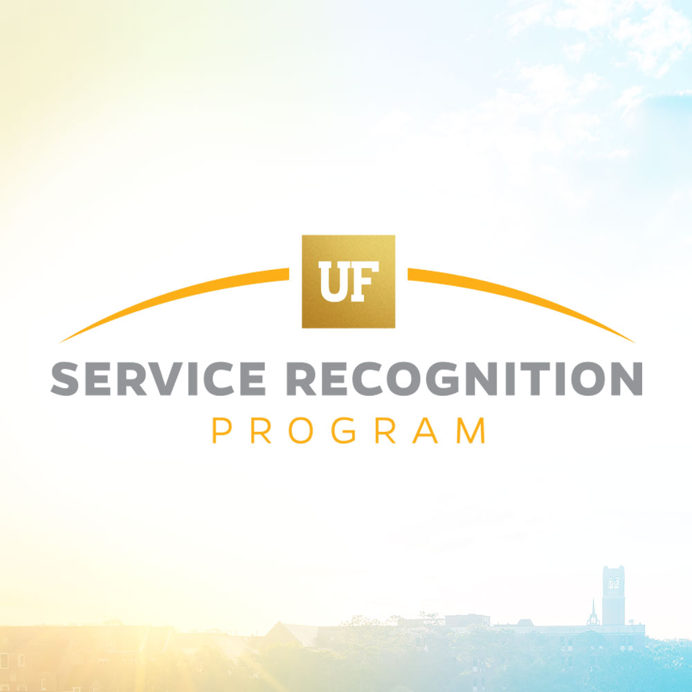 service recognition gold logo