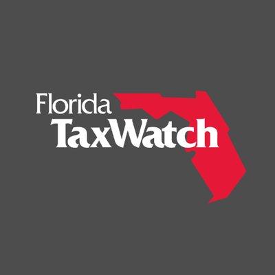 florida taxwatch logo on black background