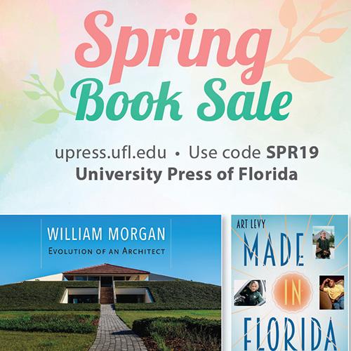 Spring sale at University Press of Florida