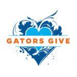 gators give heart logo