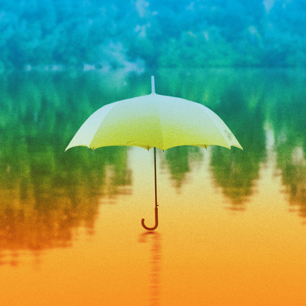 umbrella with filter