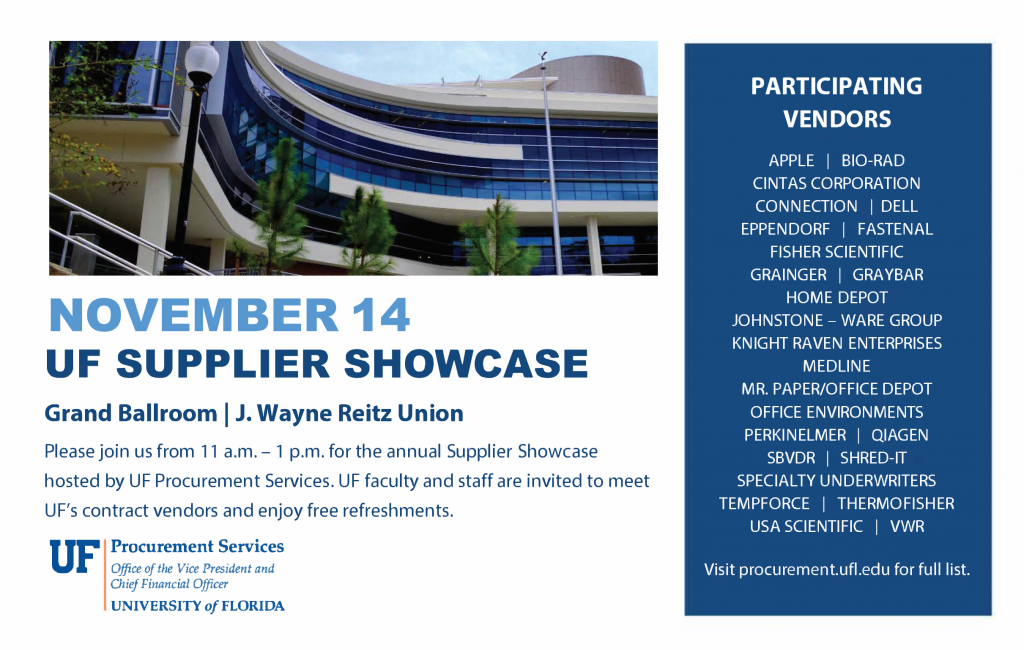 Procurement Supplier Showcase