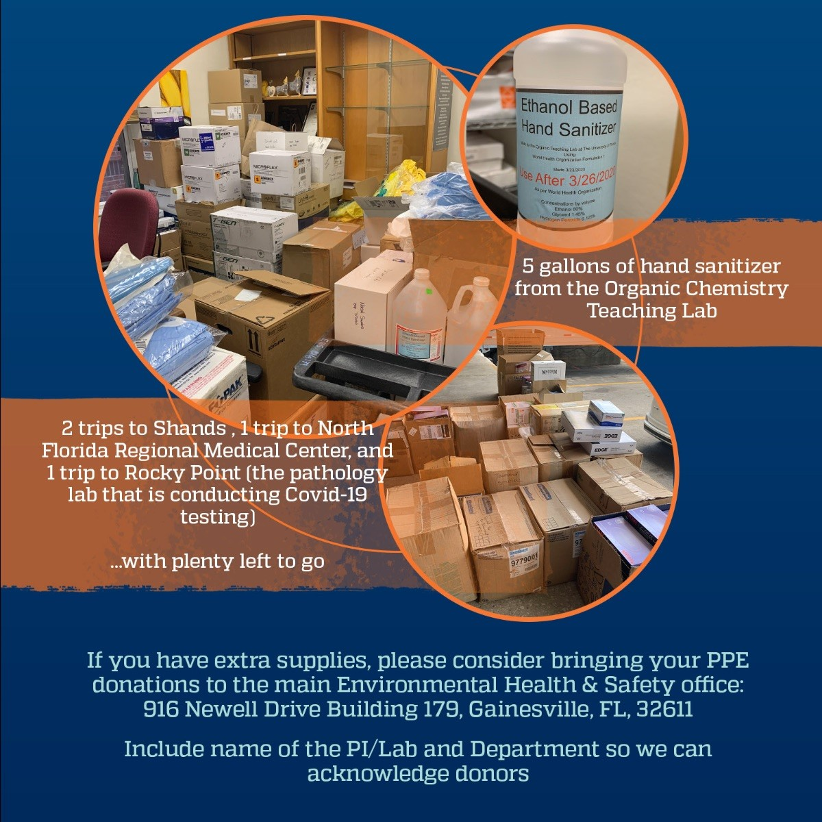 uf health donation drive
