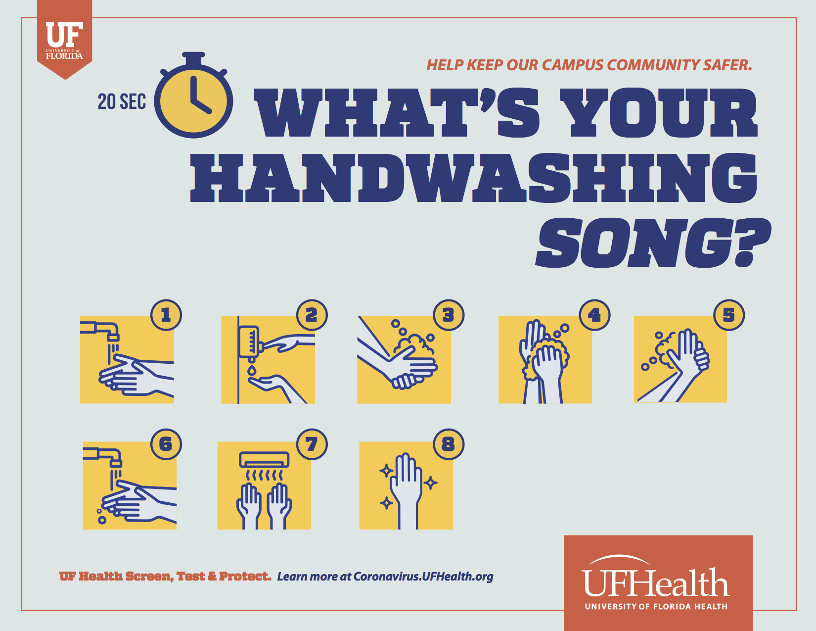 What's your handwashing song?