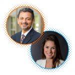 Antonio Farias and Michelle Cardel