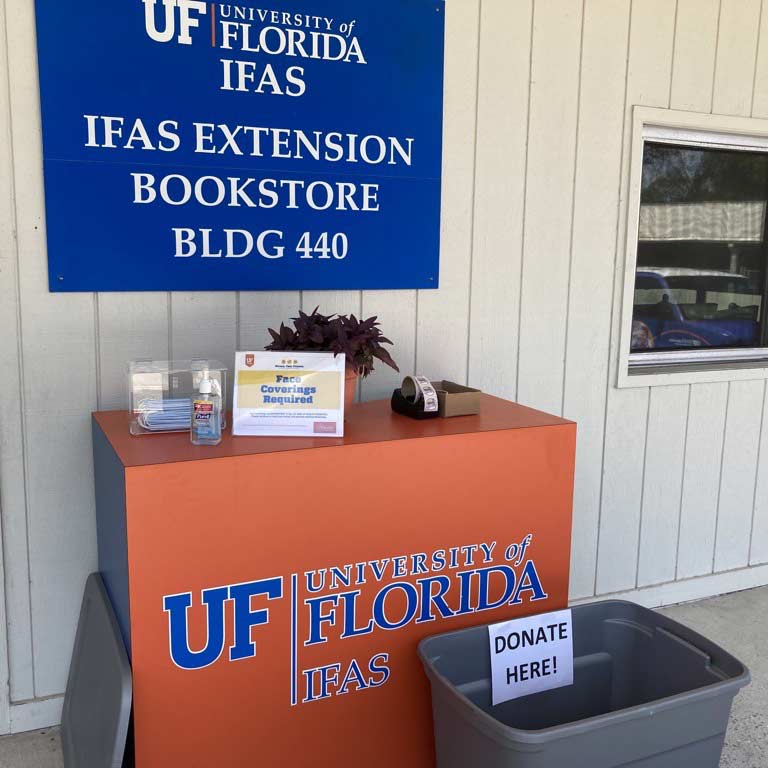 IFAS bookstore donations