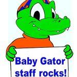 Baby Gator Staff