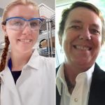 Candace Biggerstaff and Jessica Webb