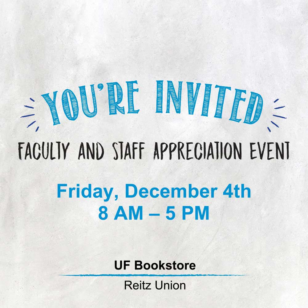 UF Bookstore faculty and staff appreciation event