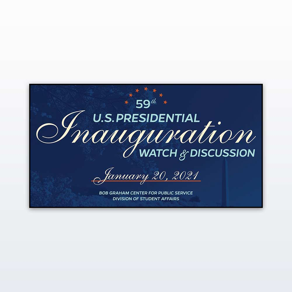 59th Presidential Inauguration Watch and Discussion