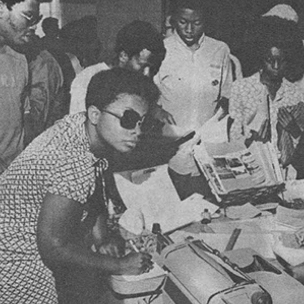Black history month exhibit