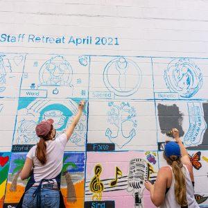 COTA Mural